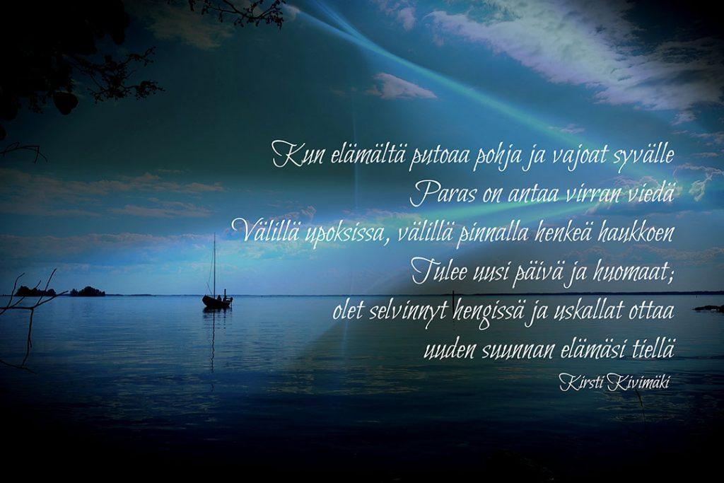 Elämän purjevene - Kirsti Kivimäki